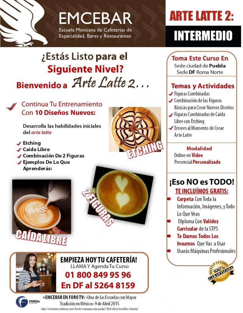 curso de arte latte
