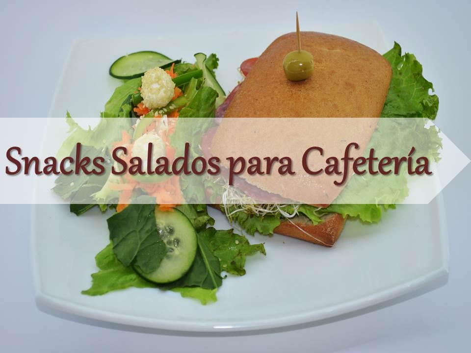 Snacks para cafetería